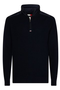 Tommy Hilfiger trui rits donkerblauw