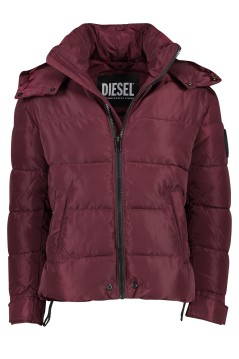 Diesel jas bordeux kort model