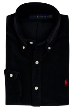 Overhemd Ralph Lauren zwart button down