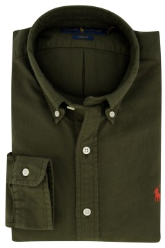 Overhemd Ralph Lauren groen button down