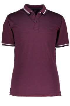 State of Art polo bordeaux met logo