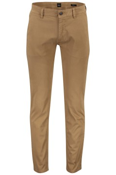 Hugo Boss chino slim fit bruin