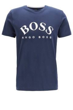 Hugo Boss T-shirt Big & Tall donkerblauw