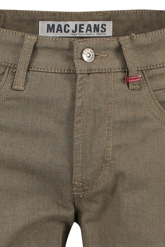 5-pocket Mac Arne Pipe khaki modern fit