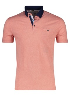 Giordano polo Modern Fit melange peach