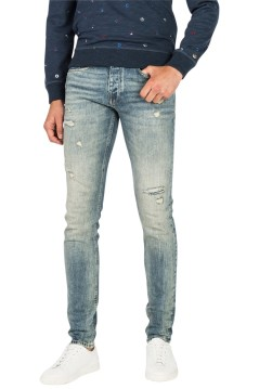 Cast Iron jeans blauw Cope Tapered
