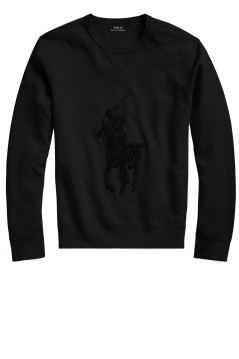 Ralph Lauren trui Big & Tall zwart