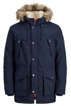 Jack & Jones parka navy Plus Size