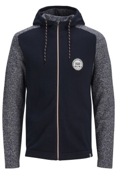 Jack & Jones sweatvest navy Plus Size