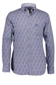 State of Art navy casual hemd button down
