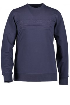 State of Art sweater donkerblauw met logo