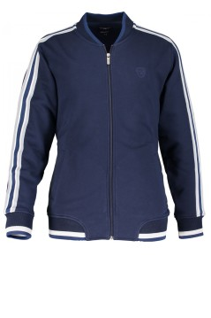 State of Art sweatvest donkerblauw