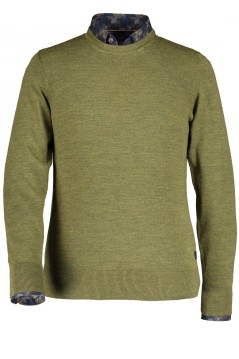 State of Art pullover groen ronde hals