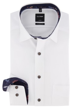 Olymp Luxor Modern Fit shirt wit