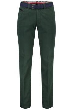 Meyer chino Chicago donkergroen incl. riem