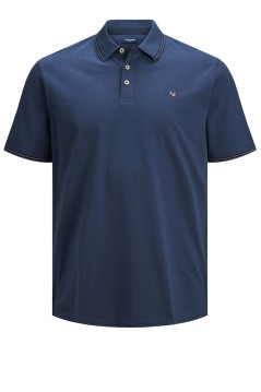 Jack & Jones poloshirt navy Plus Size