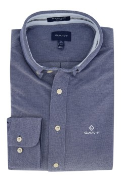 Overhemd Gant blauw Regular Fit