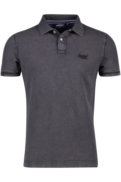 Superdry polo antraciet