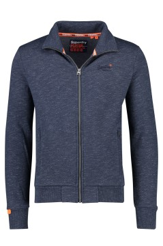 Superdry vest Orage Label navy melange