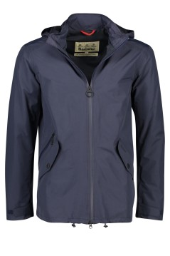 Barbour jack Rosedale donkerblauw capuchon