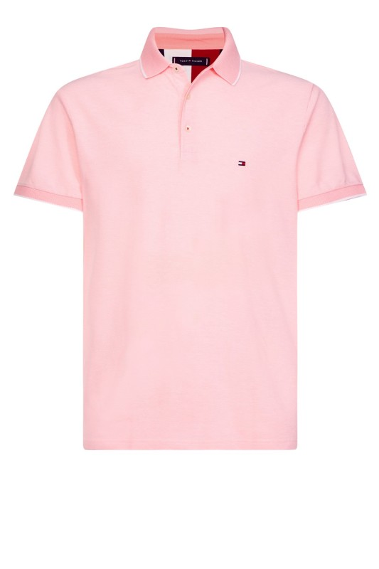 Tommy Hilfiger polo regular fit roze