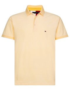 Tommy Hilfiger polo regular fit geel