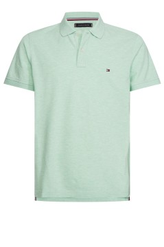 Tommy Hilfiger polo slim fit mintgroen