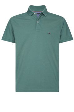 Tommy Hilfiger Big & Tall polo donkergroen