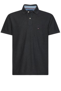 Tommy Hilfiger Big & Tall polo antraciet melange
