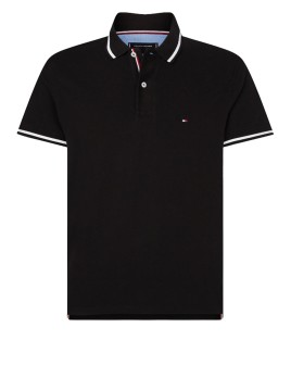 Tommy Hilfiger Big & Tall polo zwart