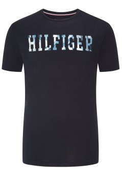 Tommy Hilfiger Big & Tall T-shirt donkerblauw
