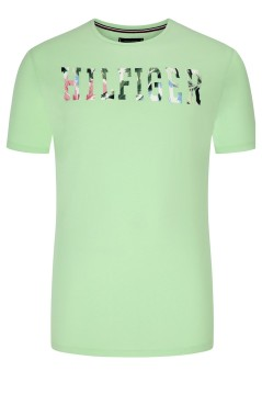 Tommy Hilfiger Big & Tall T-shirt lichtgroen