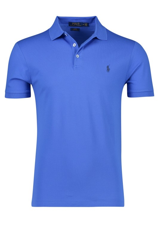 Ralph Lauren polo Slim Fit blauw