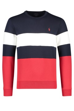 Ralph Lauren sweater navy rood wit