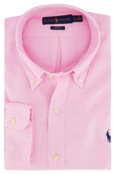 Linnen overhemd Ralph Lauren button down