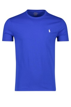 Ralph Lauren t-shirt Custom Slim Fit blauw