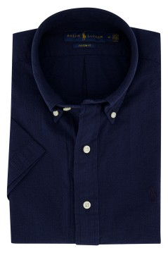 Ralph Lauren Big & Tall shirt navy korte mouw