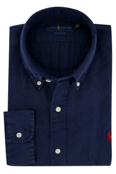 Ralph Lauren Big & Tall shirt navy met logo