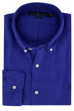 Ralph Lauren Big & Tall shirt blauw button down