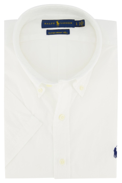 Ralph Lauren korte mouw shirt Big & Tall wit