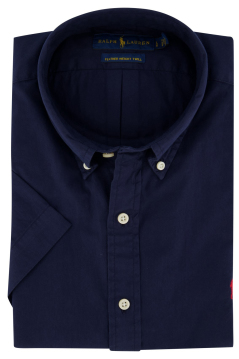 Ralph Lauren Big & Tall hemd navy korte mouw