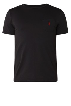 T-shirt Ralph Lauren Big & Tall zwart