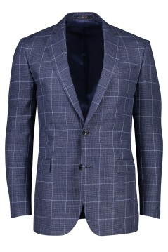 Donkerblauw geruit colbert Magee classic fit