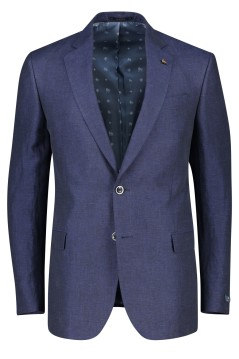Magee colbert donkerblauw classic fit