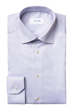 Eton shirt grijs Contemporary Fit