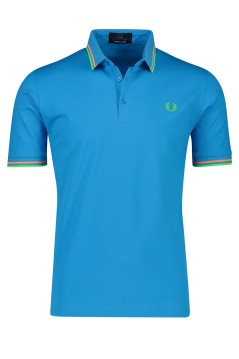Poloshirt blauw Fred Perry
