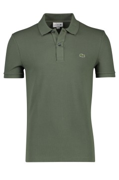 Lacoste polo slim fit olijfgroen