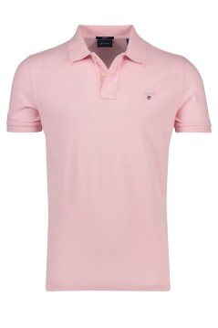 Gant polo regular fit lichtroze