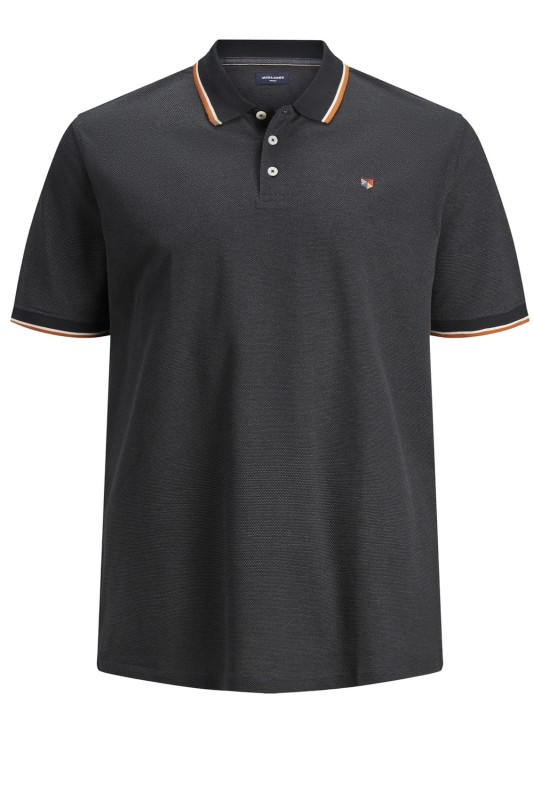 Jack & Jones poloshirt grijs Plus Size