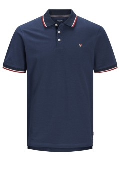 Jack & Jones Plus Size polo nachtblauw
